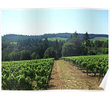 Oregon Wine Poster