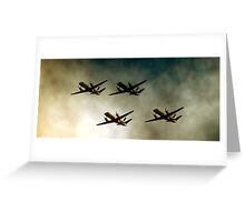 flying high Greeting Card