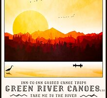 2016 Poster - Canoe Firewatch by Steven House