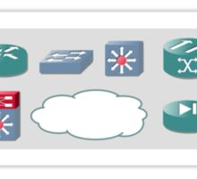 Router Icons Sticker