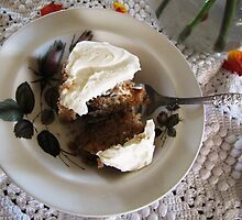 Carrot Cake and Cream Cheese Frosting by trueblvr