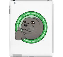 Seal Of Aproval iPad Case/Skin