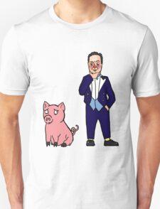 David Cameron and a Pig T-Shirt