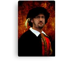 The Second Scholar Canvas Print