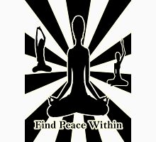 Find Peace Within Womens Fitted T-Shirt