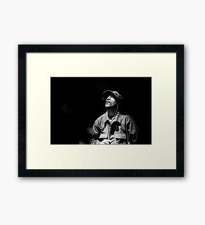 Righteous, Inspiration Framed Print