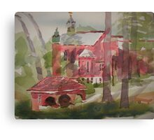 Ursuline Cathedral in Shadow Canvas Print