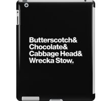 Butterscotch Chocolate Prince Questlove Helvetica T-Shirts & More iPad Case/Skin