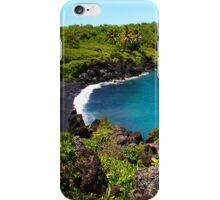 Waianapanapa Beach in Maui, HAWAII iPhone Case/Skin