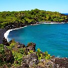 Waianapanapa Beach in Maui, HAWAII by Atanas Bozhikov NASKO