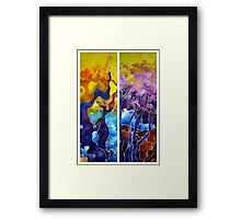 Enchanted Trees Framed Print