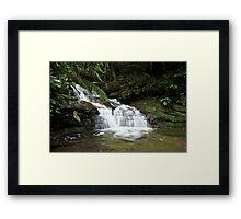 Leura cascade  Framed Print
