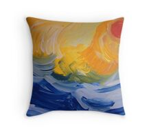 And the Sea Knows Throw Pillow