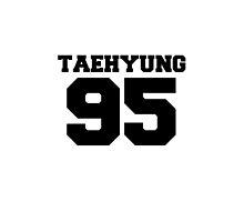 BTS Bangtan Boys Taehyung Football Design Black by impalecki