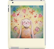 Yoga Bunny iPad Case/Skin