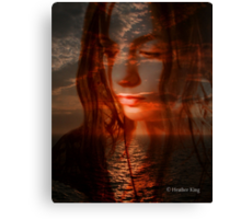 So This Is Silence Canvas Print