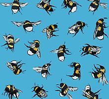 Garden Bumblebees by Tom Henderson