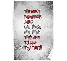 The Most Dangerous Liars Poster