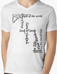 Jesus names Mens V-Neck T-Shirt