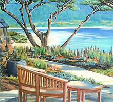 Carmel Lagoon View by Jane Girardot