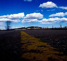 Winding Road - South Dakota. by Joe Miller
