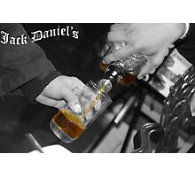 Jack Daniels Photographic Print