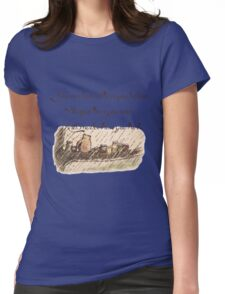 """""""You Are Braver Than You Believe"""" (version 1) Womens Fitted T-Shirt"""