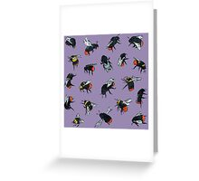 Red-Tailed Bumblebees Greeting Card