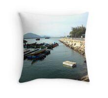 Island life Throw Pillow