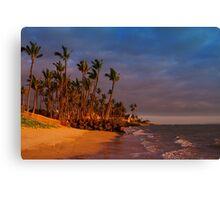 Sunset over Maalaea Bay - Maui, HAWAII Canvas Print