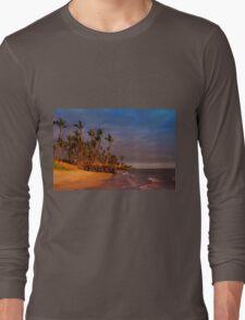 Sunset over Maalaea Bay - Maui, HAWAII Long Sleeve T-Shirt