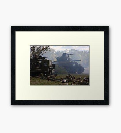 Fog of War Framed Print