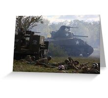 Fog of War Greeting Card