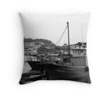 Ferry Pier Throw Pillow