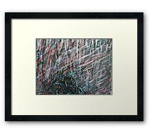 A Hard Rain's Agonna Fall Framed Print