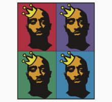 HIP-HOP ICONS: TUPAC SHAKUR (4-COLOR) T-Shirt