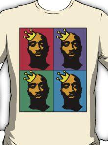 HIP-HOP ICONS: TUPAC SHAKUR (4-COLOR) T-Shirt