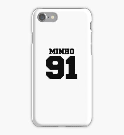 SHINee Minho Football Design Black iPhone Case/Skin