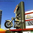 Harley Has Left the Building (Las Vegas, Nevada) by rocamiadesign