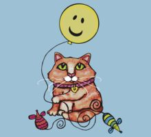 Cat Lover's Cute Tabby  T-Shirt by Jamie Wogan Edwards