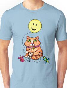 Cat Lover's Cute Tabby  T-Shirt Unisex T-Shirt