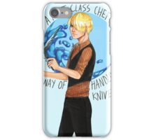 One Piece- A First Class Chef iPhone Case/Skin