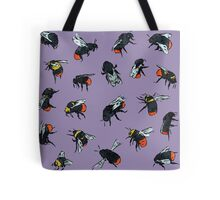 Red-Tailed Bumblebees Tote Bag