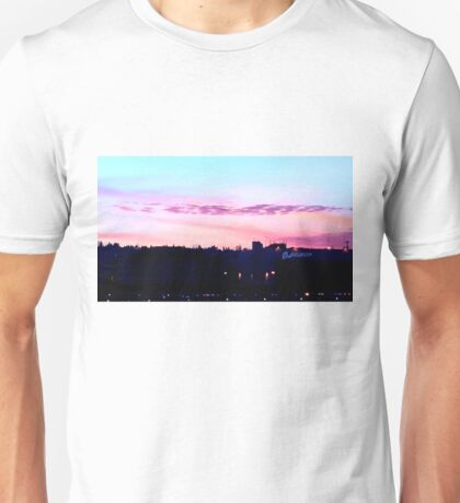Dusk on the Tarmac Unisex T-Shirt