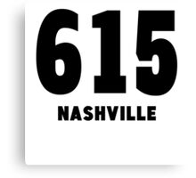 615 Nashville Canvas Print