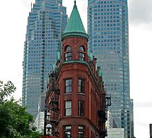 Triangular Brownstone, Toronto by TeaCee