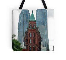 Triangular Brownstone, Toronto Tote Bag