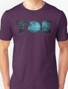 TDE TOP DAWG TEAL OCEAN BLUE  NEBULA T-Shirt