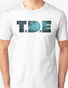 TDE TOP DAWG TEAL OCEAN BLUE  NEBULA Unisex T-Shirt
