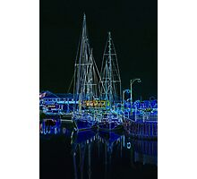 """Midnight Mooring"" Photographic Print"